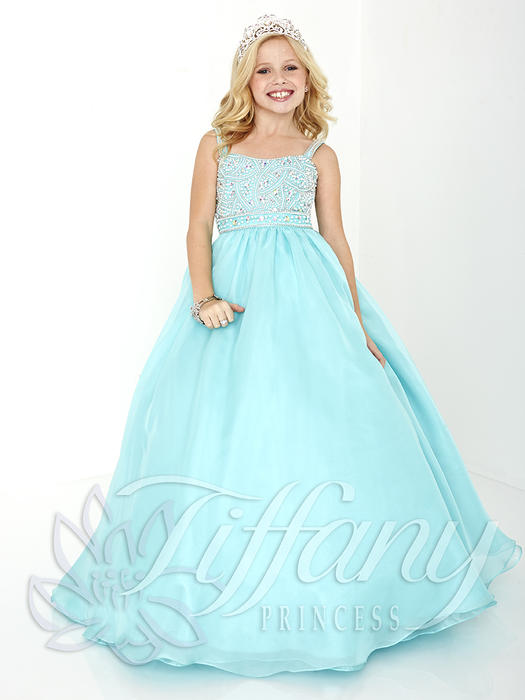 Tiffany Princess Pageant Gowns at Synchronicity Boutique