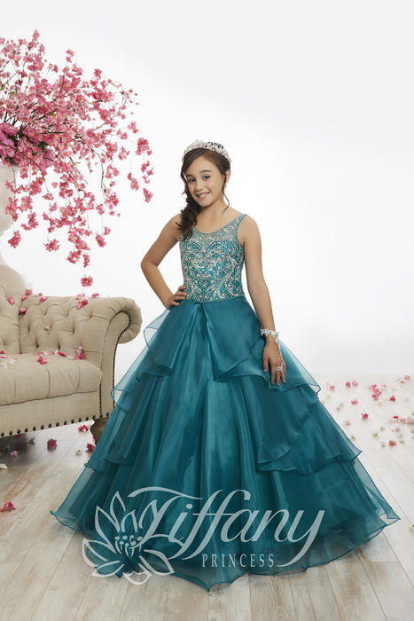 Tiffany Princess 13526 Pageant Gowns at Synchronicity Boutique