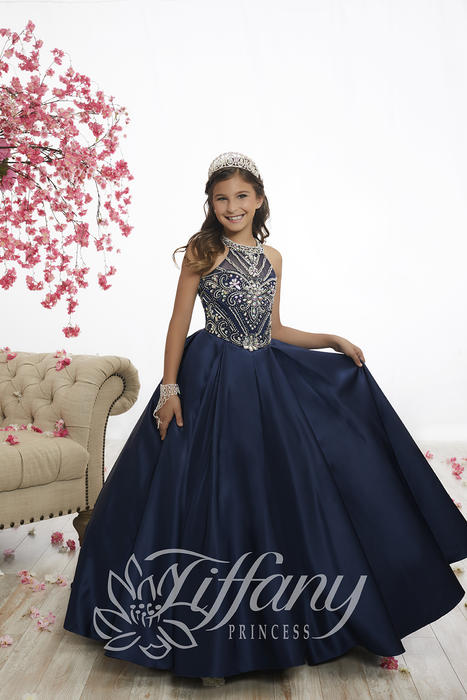 Tiffany Princess 13528 Pageant Gowns at Synchronicity Boutique