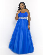5407W Blush TOO Plus size Prom