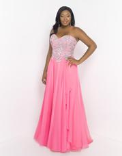 9056W Blush TOO Plus size Prom