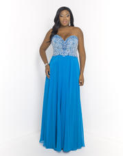 9950W Blush TOO Plus size Prom