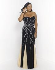 9973W Blush TOO Plus size Prom