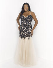 9975W Blush TOO Plus size Prom