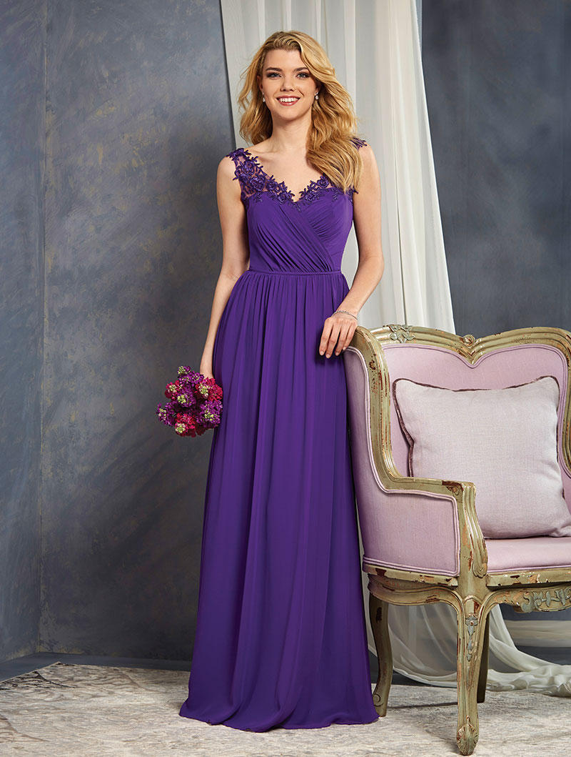 Formals xo alfred angelo bridesmaids 7365l alfred angelo for Wedding dresses king of prussia