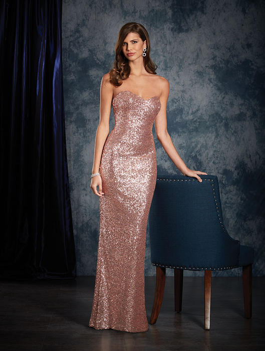 Alfred Angelo Bridesmaids Sapphire