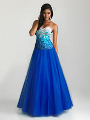 6600 Sequined Ball Gown