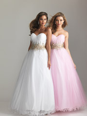 Strapless Tulle Ballgown