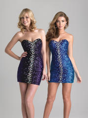6675 Short Sequined Mini