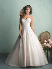 9153 Pink/Ivory front