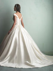 9155 Ivory/Silver back