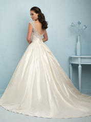 9204 Ivory/Silver back