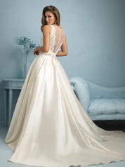 9207 Ivory/Silver back
