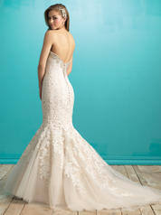 9266 Champagne/Ivory/Silver back