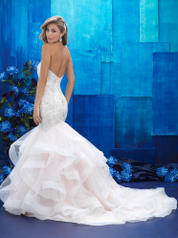 9421 Champagne/Ivory/Silver back