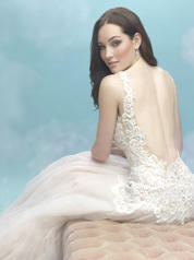 9461 Antique/Ivory/Nude/Silver detail