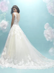 9470 Ivory/Nude/Silver back