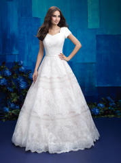 M578 Allure Modest Bridal Collection