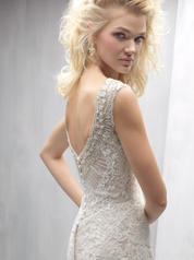 MJ262 Champagne/Ivory/Silver detail