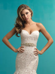 9261 Champagne/Ivory/Silver front