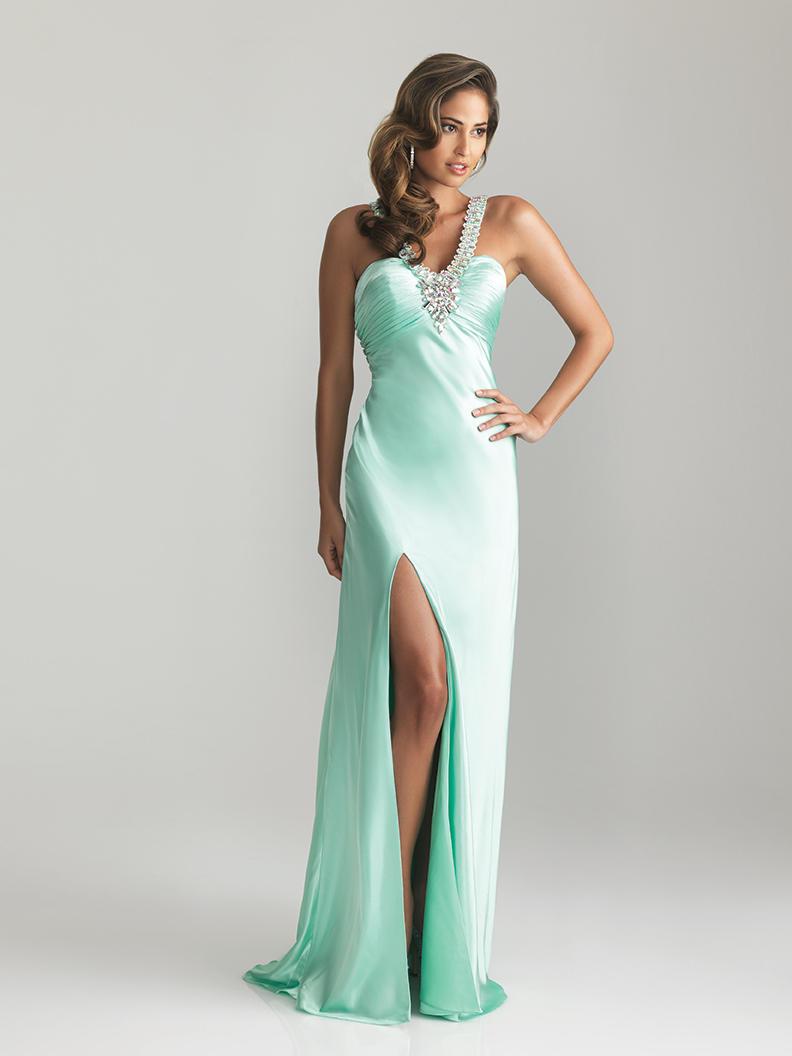 Мятное платье фото 2