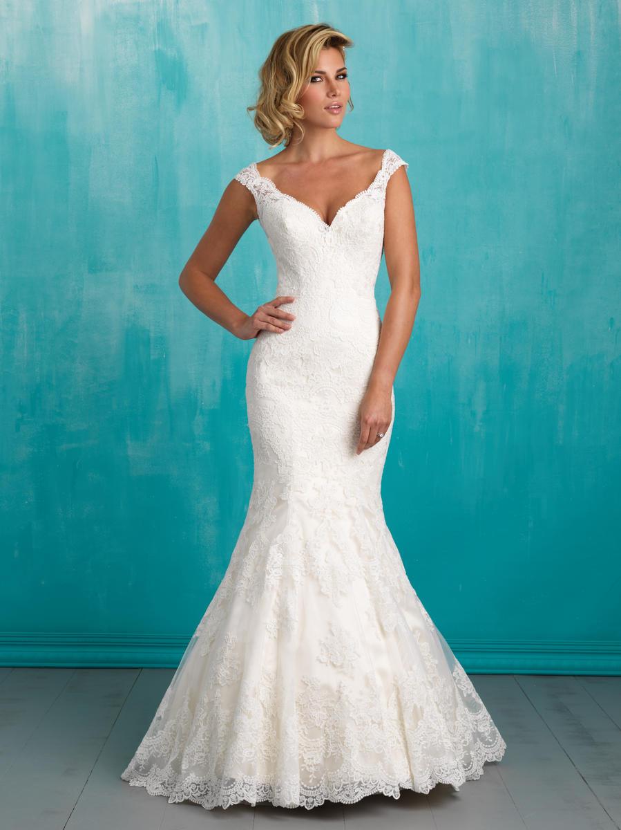 Allure bridals 9322 allure bridal the wedding bell tacoma for Wedding dresses tacoma wa