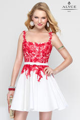 3689 Diamond White/Red front