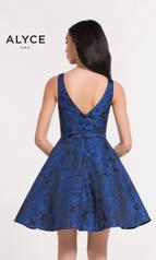 3743 Cobalt Blue Print back