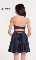 3751 Navy Blue/Fuchsia Pink back