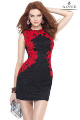 4443 Black/Red front