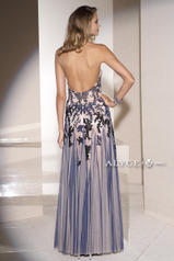 5665 Navy/Nude back