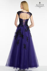 5755 Purple/Black back