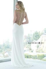 6361 Ivory/Gold back
