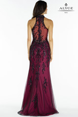 6721 Black/Raspberry back