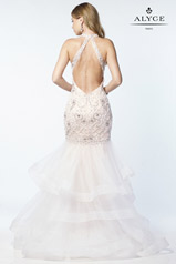 6745 Diamond White/Nude back