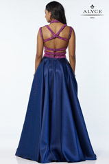 6780 Navy/Fuchsia back