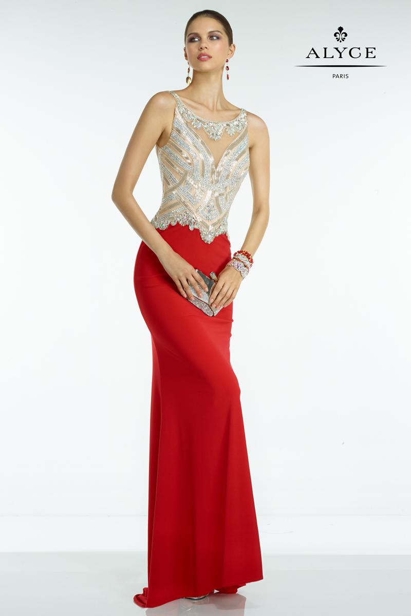 Alyce Prom 6500 Alyce Paris Prom - Effie's Boutique