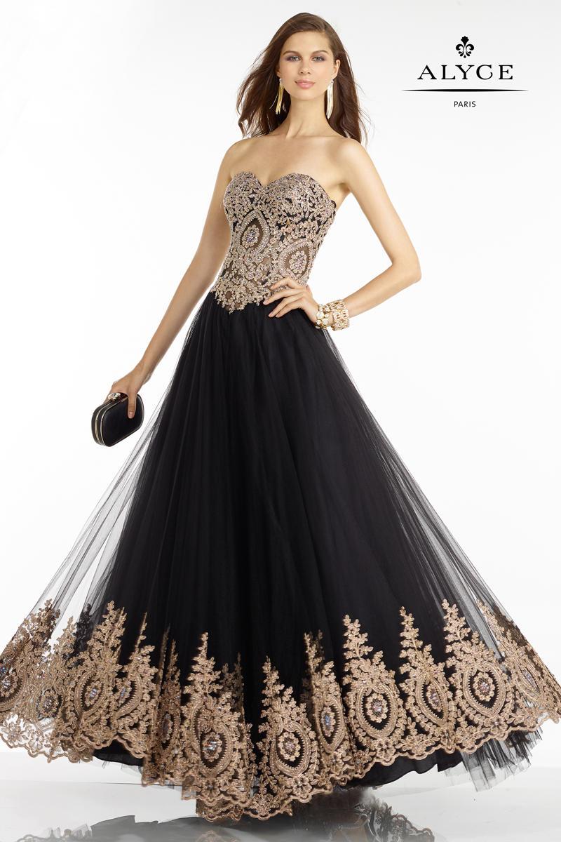 Night in paris plus size dress