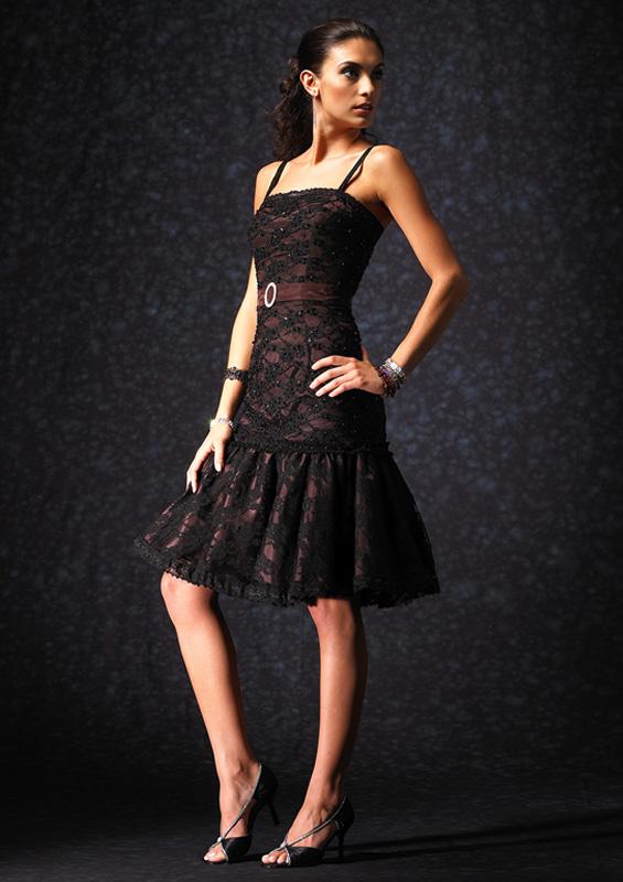 عکس مدل لباس مجلسی مشکی