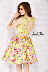 52002 Yellow/Floral back