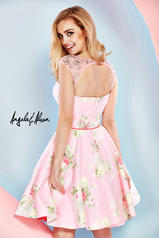 52012 Light Pink/Floral back