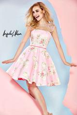 52012 Light Pink/Floral front