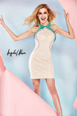 52014 Turquoise/Nude front