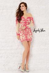 52033 Fuchsia/Nude front
