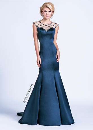 ASHLEYlauren CollectionSweetheart Trumpet Evening Dress