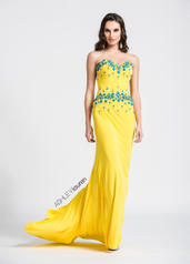 1054 Yellow/Turquoise front