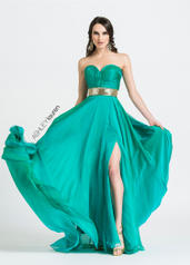1069 ASHLEYlauren CollectionStrapless A-Line