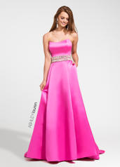 1095 Strapless A-line Ball Gown