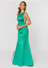 Illusion Cut Out Evening Dress
