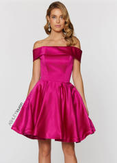4047 Off The Shoulder Cocktail Dress